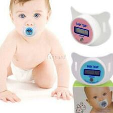 Baby Kid Boy LCD Digital Mouth Nipple Pacifier Thermometer Temperature Practical