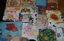 60 Vintage Character 2 Flat or 2 Fitted Twin Bed Sheets {Fabric} Sold Separate