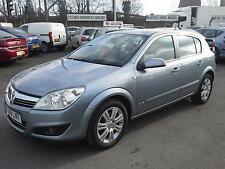 VAUXHALL ASTRA 1.6 16v ELITE 5 DR, 8 SERVICES, FULL BLACK HEATED LEATHER SEATS