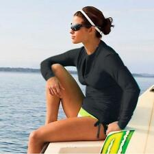 Scuba & Snorkeling Women's Wetsuit Rash Guard Jump Surfing Shirt Clothing Tops