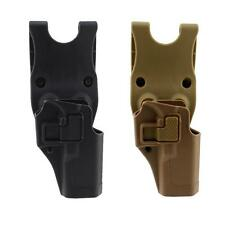 Concealment Right Hand Hard Waist Belt Pistol Holster for Glock 17 19 22 23 31