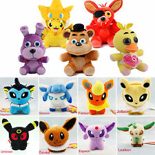 Star Wars Cartoon FNAF Pokemon Kid Stuffed Toy Plush Soft Teddy Animal Doll Gift