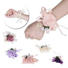 Bracelet Corsage Wrist Flower Bouquet Bridal Wedding Jewelry