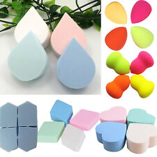 4pc Smooth Pro Makeup Foundation Beauty Flawless Droplets Sponge Puff Powder new