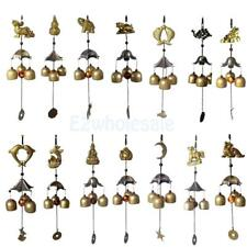 Various Traditional 3 Bells Copper Chapel Church Bell Wind Chime Garden Ornament