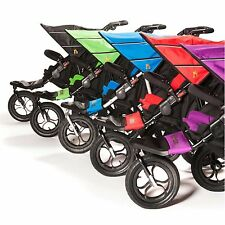 Out N About Nipper 360 Double Buggy V4/Raincover/Basket plus Parent Console