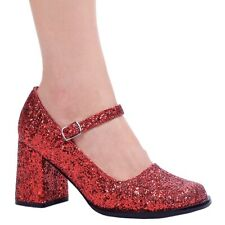 Eden G Red Dorothy's Ruby Slippers Costume Shoes Adult