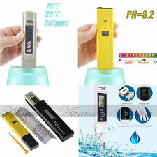 Digital PH Meter & TDS LCD Tester Lab Aquarium Pool Hydroponic Water Monitor STS