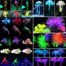 Artificial Ornament Fish Tank Decor Dragon Jellyfish Coral Aquarium Water Plants