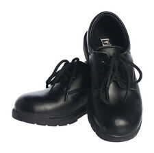 Boys Black Leather Dress Shoes Lace Up. Toddler size 5 – older boys size 6 *70*