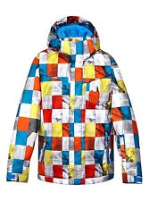 Quiksilver™ Mission Printed Youth - Snowboard jacket for Boys EQBTJ00024