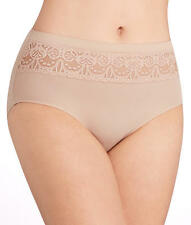 TC Fine Intimates Wonderful Edge Lace Trim Brief Panty - Women's