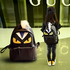 Cartoon Fashion Kids and Parents Backpacks Leather Leisure European School Bags