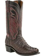 Lucchese Landon Caiman Hornback Tail Boots M2692