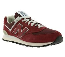 New New Balance Shoes Men's Sneakers Trainers Red ML574FBR Casual shoes WOW