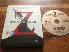 World War Z - Rare OOP Entertainment Store Exclusive No 3771 Blu Ray Steelbook
