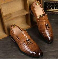 2016 Men'S Fashion Men's Slip On Flat Loafers Casual Pointed Toe tassels Shoes