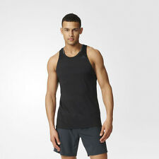 Adidas Supernova Mens Black Climalite Singlet Running Gym Vest Tank Top