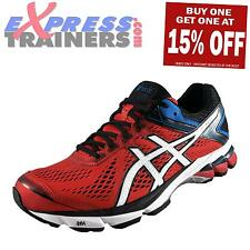 Asics Mens GT-1000 4 Premium Running Shoes Trainers Red AUTHENTIC