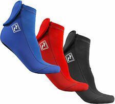 Neoprene lycra wetsuit Socks - 3mm sox diving dive surf snorkelling surfing boot