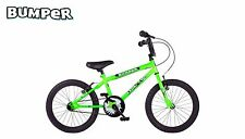 "Bumper Stunt Rider BMX style bike, green , 16"" or 14"""