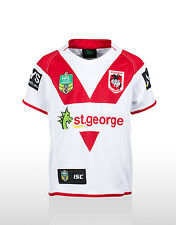 ST GEORGE ILLAWARRA DRAGONS NRL 2014 KIDS YOUTH BOYS HOME JERSEY COLLECTABLE