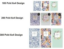"100,200,300/6x4"" Slip-in Type/Pocket Album/New Designs & Vibrant Colors"