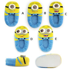 Plush Stuffed Slippers Soft Despicable Me 2 Toy Plush Minions Home Slipper Shoes