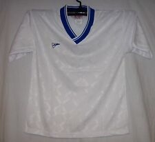 WHITE & Royal Soccer Jerseys Stampa jersey FieldSheer - Upper V