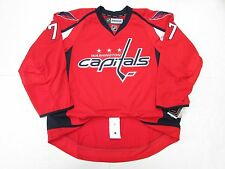 T.J. OSHIE WASHINGTON CAPITALS AUTHENTIC HOME REEBOK EDGE 2.0 7287 HOCKEY JERSEY