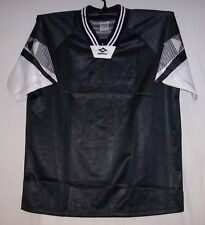 Black & White  Interroma Soccer jersey jerseys Youth Large Small Medium Large XL