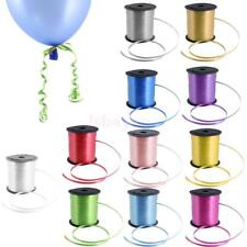 225M Colour Balloon Curling Ribbon Wedding Birthday Gift Craft Party Balloons