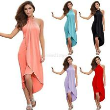 Summer Women Boho Long Maxi Evening Party Long Dress Beach Dresses Sundress S-XL
