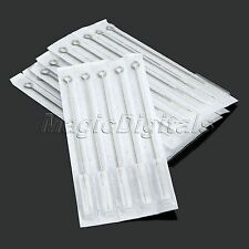 PRO Stainless Steel 5RL Disposable Medical Round Liner Tattoo Needles 10/50Pcs