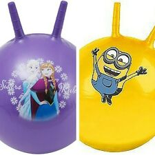 Ball Space Hopper Jump Bounce Outdoor Toy Kids Inflatable Game Frozen Minion Fun