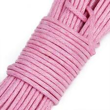 1mm Waxed Cotton Beading Cord String Cord for Beads Jewelry Make 45 Meters