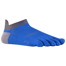 Injinji Socks Lightweight Run Performance 2.0 No Show Mariner Blue toe 1 pair