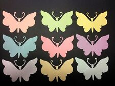 "BUTTERFLIES 100 DIE CUTS DIFFERENT COLORS ""YOU CHOOSE"" SCRAPBOOKING"
