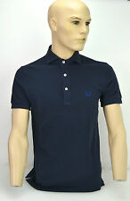 FRED PERRY MAGLIA POLO UOMO-MAN POLO SHIRT BLU NOTTE/NIGHT BLUE ART. 30102150