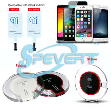 Qi Wireless Charger Charging Pad & Receiver for iPhone 5 5S SE 6 6S Plus Samsung