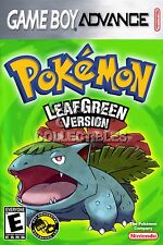 RGC Huge Poster - Pokemon Leaf Green Version Game Boy Advance GBA - GBA067