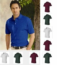 New JERZEES J100R Jersey Sport Polo Shirt S-3XL sizes on SALE w/ FREE SHIPPING!!