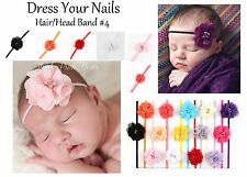 Headband Baby Toddler flower elastic Rhinestone Pearl Babies Princess Hair Band