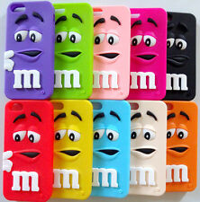 Silicone Rubber Gel Armour Back Skin Case Cover For Apple iPhone 5S Soft Feel UK