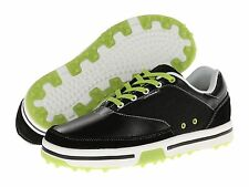 52% OFF NEW Mens CROCS Drayden II Golf Shoes Black/Volt Green Retail $100