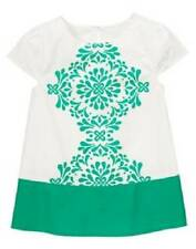 GYMBOREE THE GREEN SCENE CLOVER KALEIDOSCOPE TUNIC TOP SHIRT 4 5 7 8 NWT GIRLS