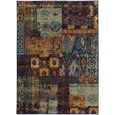 RUGS AREA RUGS CARPET AREA RUG FLOOR DECOR CONTEMPORARY PATCHWORK RUGS NEW