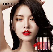 Pony Effect Stay Fit Matte Lip Color 10 Colors 4.5g Long Lasting