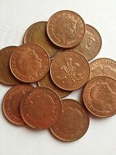 2p 2 Pence Two Pence Coin Queen Elizabeth II  From 1971-2015