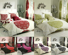 8Pc Bumper Set Duvet/Quilt Cover With PillowCases+Fitted Sheet+Matching Curtain